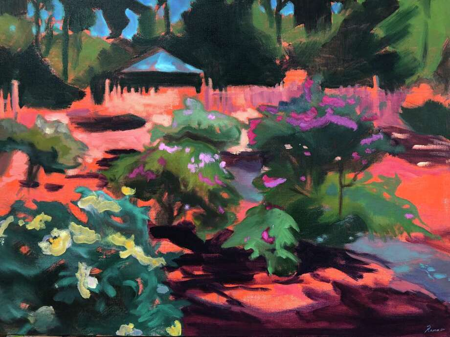 """In the Heat of the Day by Wilton artist Rama Ramaswami, will be among the works of art featured in the exhibition """"Winter Interlude."""" Photo: Contributed Photo / Wilton Library / Wilton Bulletin Contributed"""