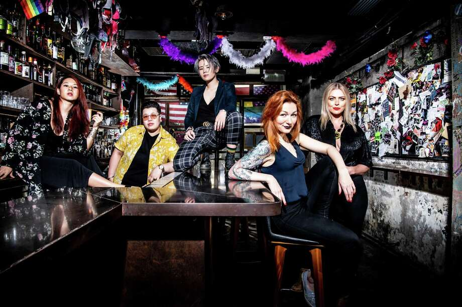 The team at The Pontiac bar in Hong Kong Photo: Courtesy Photo