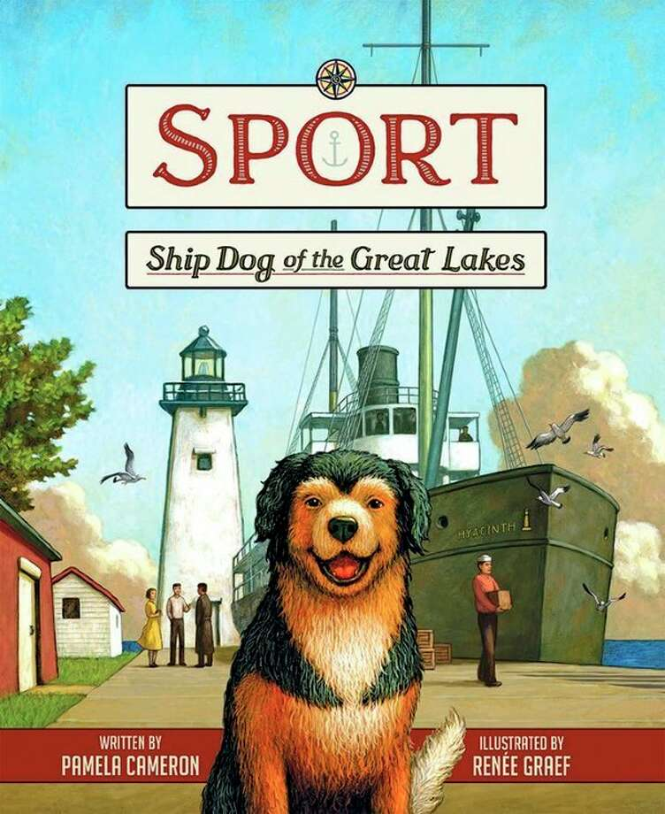 "On Feb. 20, Pamela Cameron, a retired educator and librarian from Kalamazoo, will talk about her book, ""Sport, Ship Dog of the Great Lakes"" as part of the Winter Writers Series. (Courtesy photo)"