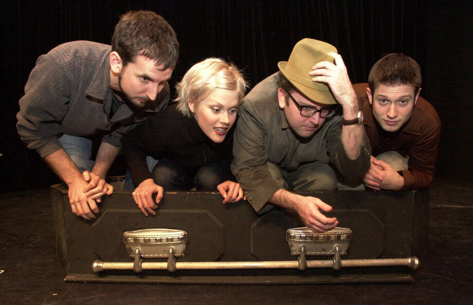 Local comedy groups started the first iteration of San Francisco Sketchfest, starting it first as a 3 week festival at Shelton Theater on Sutter Street. SHOWN: Totally False People (L to R): Gabriel Diani, Janet Varney, David Owen, Cole Stratton. Photo: Katy Raddatz / Hearst