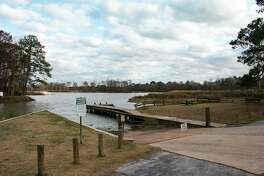 The Kingwood Service Association has applied for a permit with the City of Houston to dredge an area of River Grove Park where sand was deposited during Hurricane Harvey. The dredging will be from the left of the boat ramp, around the pier, and down to the right to the end of the boardwalk to help with boat entry.