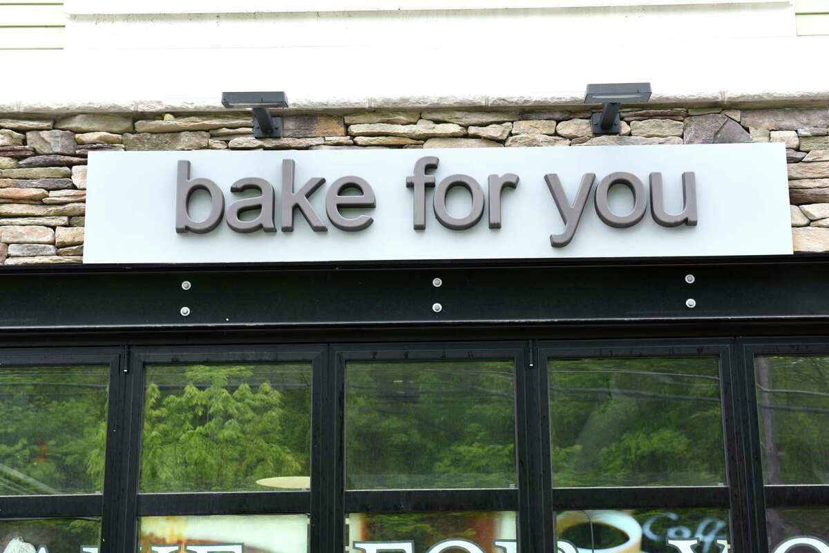 Sign outside of Bake for You on Friday, May 17, 2019 in Slingerlands, N.Y. (Lori Van Buren/Times Union)