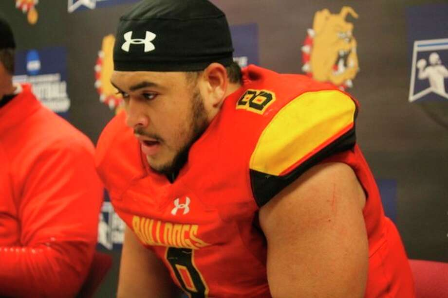 The honors continue to come in for Ferris' Austin Edwards. (Pioneer file photo)