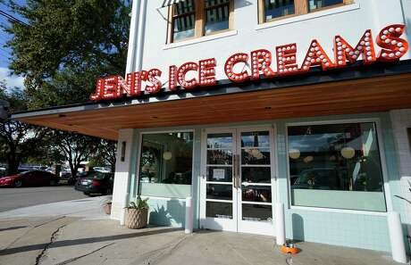 Jeni's Spendid Ice Creams, 375 W 19th St., is shown Wednesday, Jan. 8, 2020, in Houston.