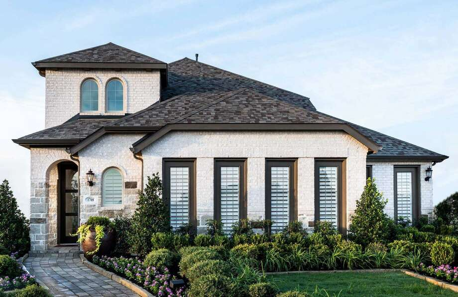 Mortgage rates are down and home sales are up. Here, Highland Homes is among the builders at Grand Central Park's new subdivision, Central Village. NEXT: Most expensive Houston homes sold from 2010 to 2019 Photo: Grand Central Park / Johnson Development
