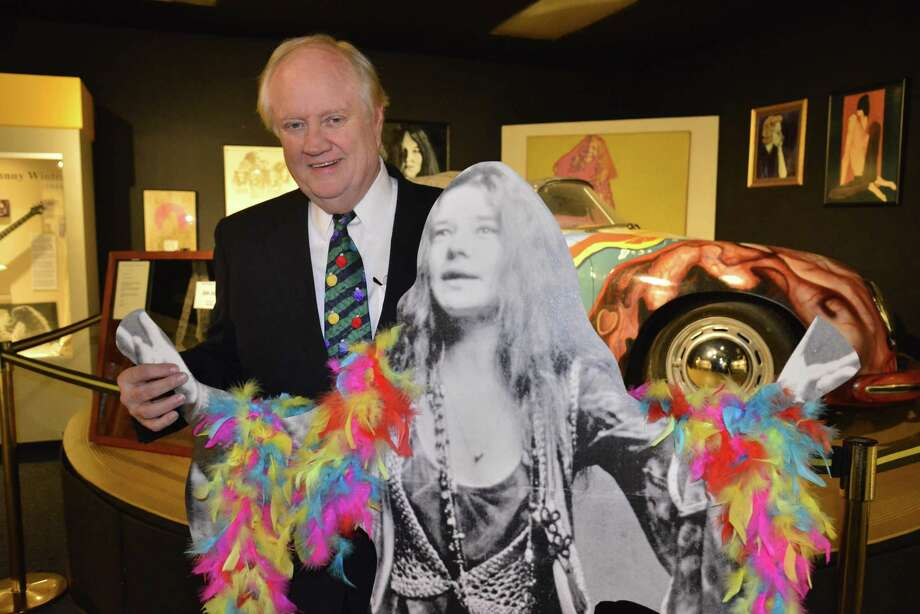 """Lots of visitors come here just to see Janis (Joplin),"" said Tom Neal, managing director of the Museum of the Gulf Coast in Port Arthur. ""Janis is a big draw."" Photo: John Fulbright"