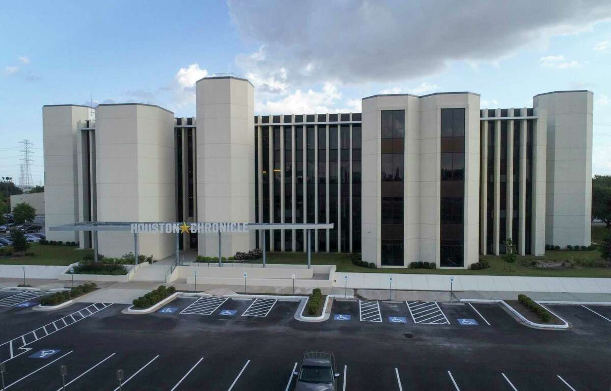 The Houston Chronicle office, photographed on Tuesday, Aug. 13, 2019, in Houston.Four Houston Chronicle journalists attended a conference last week where a participant has had a presumptive positive test for novel coronavirus.