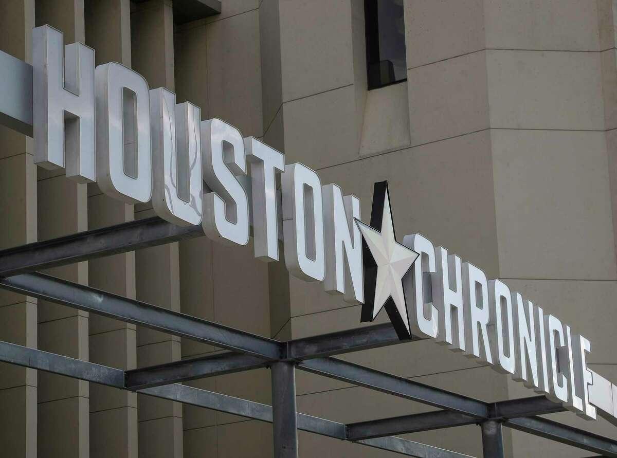 The Houston Chronicle office in Houston