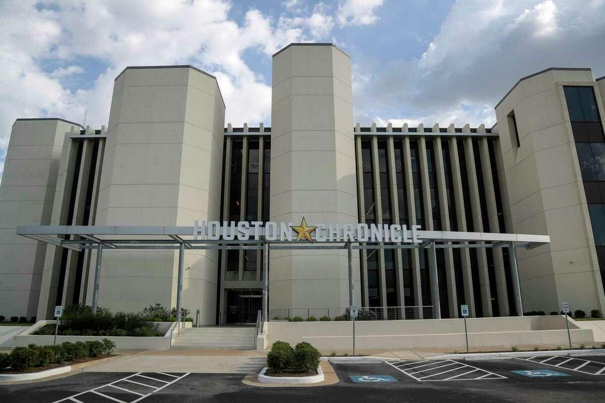 The Houston Chronicle building, 4747 Southwest Freeway.