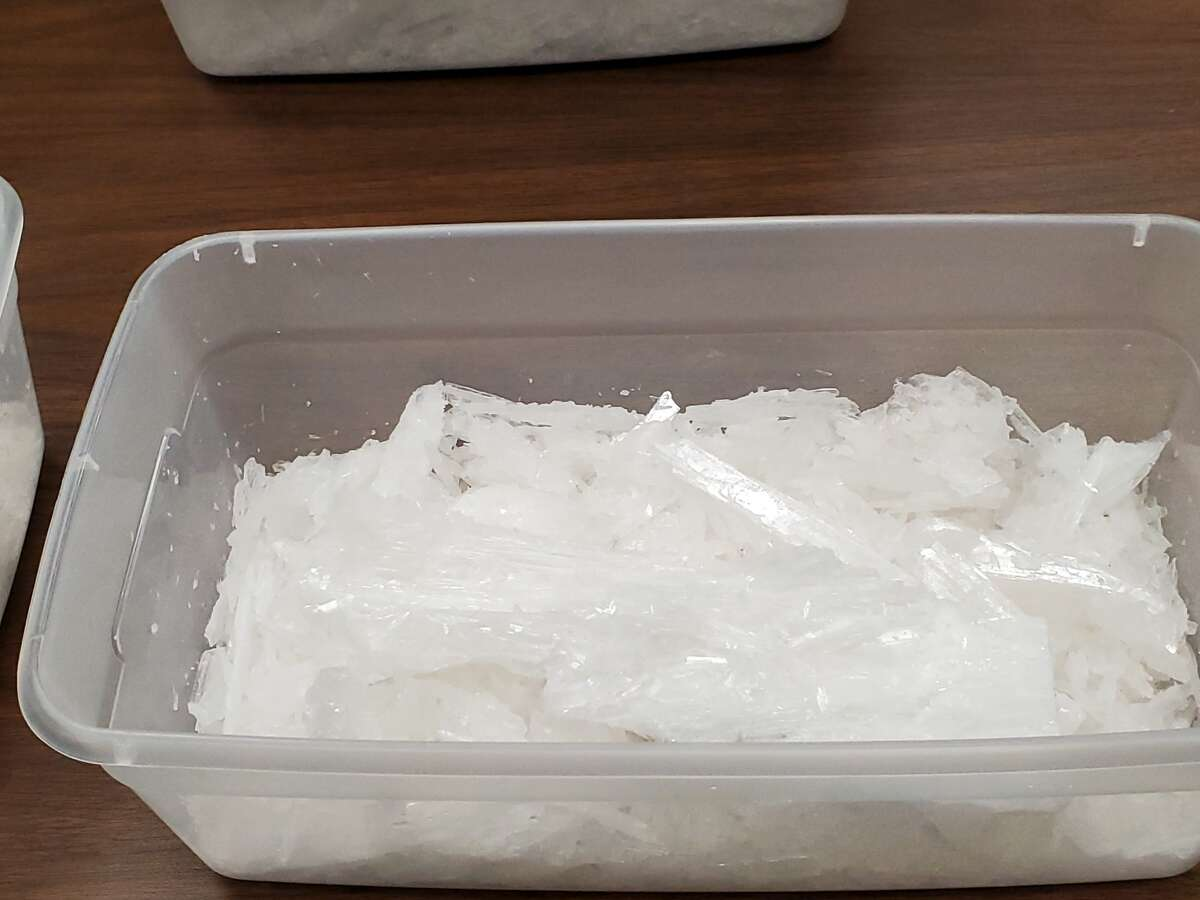 The Jefferson County Sheriff's Office seized approximately 11 pounds of meth and a firearm during a traffic stop Wednesday, January 8, 2020.