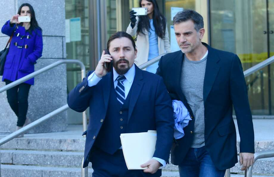 Fitis Dulos was released from custody after posting a $6 million bond in the Jennifer Dulos case on January 9, 2020. Photo: Erik Tratmann