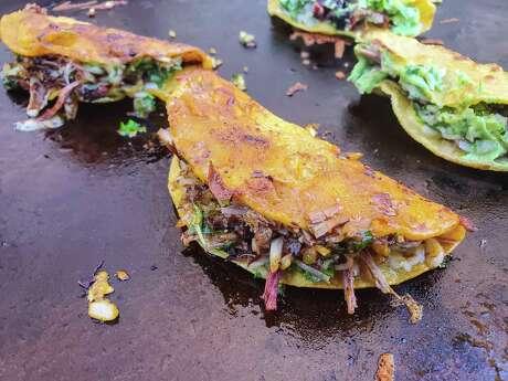 Birria tacos from JQ's Tex Mex BBQ