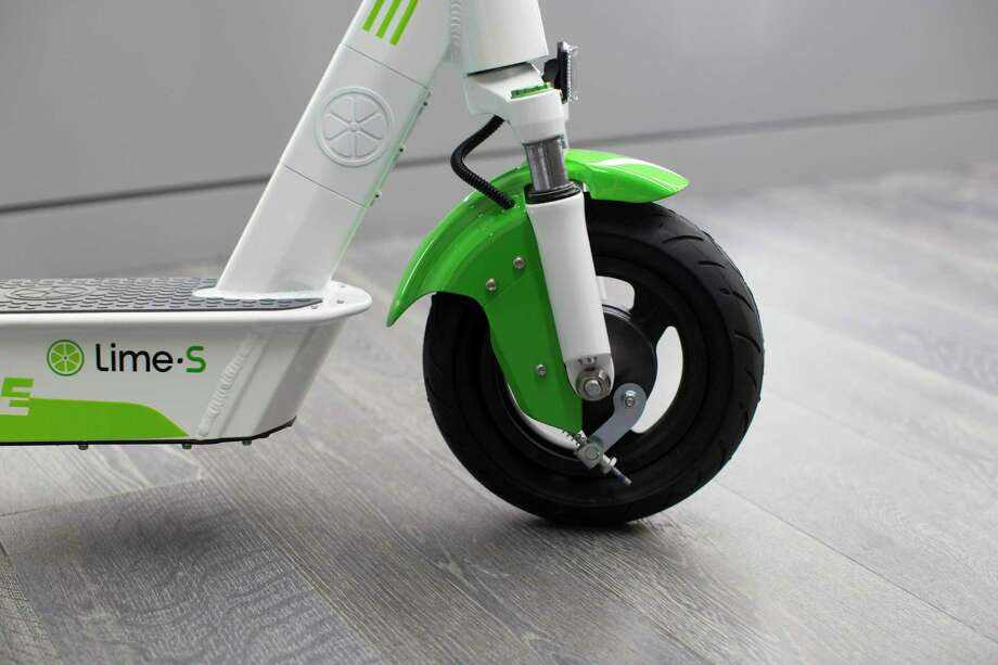 Lime, based in San Francisco, rents electric scooters in more than 100 cities on five continents, but on Thursday announced it was pulling out of San Antonio and several other locations. Photo: Lime / Contributed Photo /