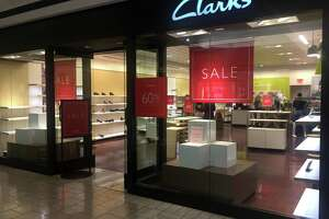 Clarks is closing this store on the fifth floor of the Stamford Town Center mall in Stamford, Conn.