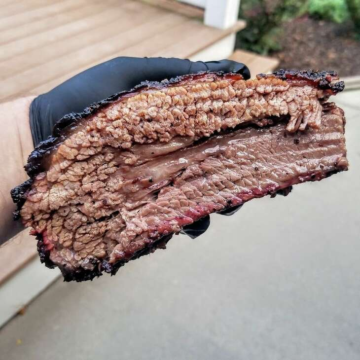Pitmaster Tyler Harp of Harp Barbecue of Raytown, Mo., has introduced Central Texas-style craft barbecue to the Kansas City market during weekend pop-ups at Crane Brewing Co. in Raytown.