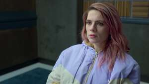"""Hayley Atwell in a scene from the Netflix crime show """"Criminal."""""""