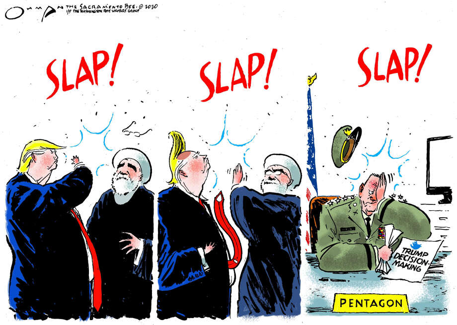 Jack Ohman, Sacramento Bee Photo: Jack Ohman