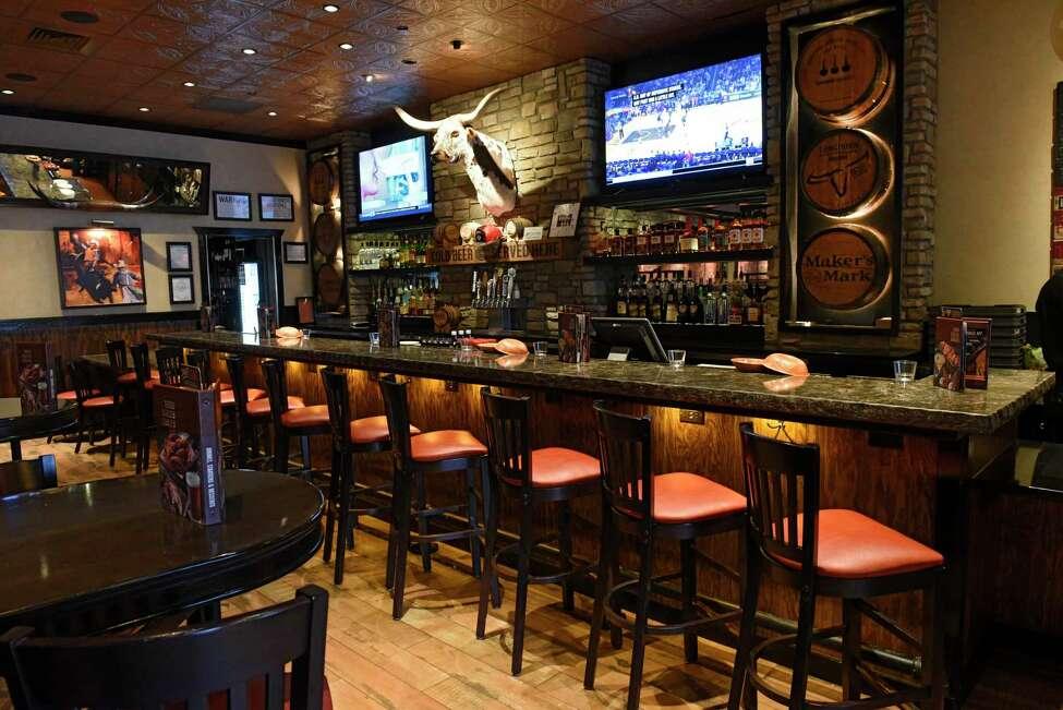 Interior of LongHorn Steakhouse on Monday, Jan. 6, 2020 in Colonie, N.Y. (Lori Van Buren/Times Union)