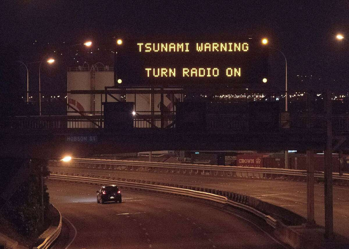 #9. New Zealand - Recorded tsunamis: 80 Experts in New Zealand are concerned sufficient procedures are not in place to warn residents of approaching tsunamis in time. Emergency Mobile Alerts, sirens, and media alerts may not be deployed in time for residents to seek shelter on higher ground, these experts say. [Pictured: A tsunami warning alert is seen on a notice board in Wellington following an earthquake in 2014 centered north of New Zealand.] This slideshow was first published on theStacker.com