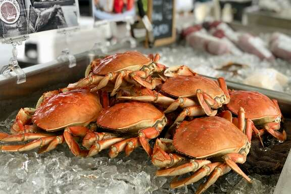 Cooked Dungeness crab from StoneRoot Field & Sea.