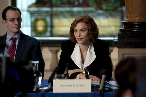 "Rachel Weisz stars as acclaimed writer and historian Deborah Lipstadt in the film ""Denial."""