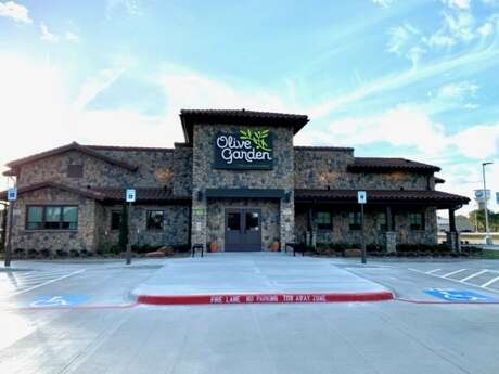 The new Olive Garden in Lake Jackson will be a first for the city south of Houston. The restaurant is at 151 State Highway 288.