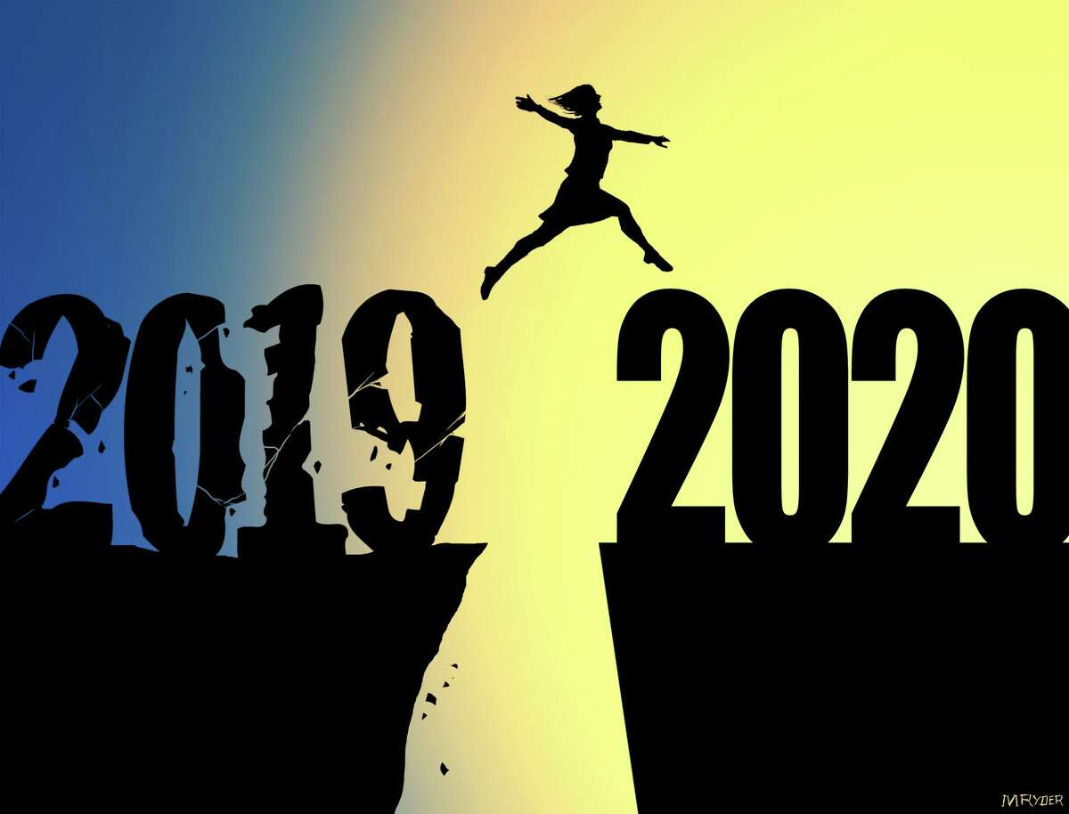 Illustration for the new year, 2020.