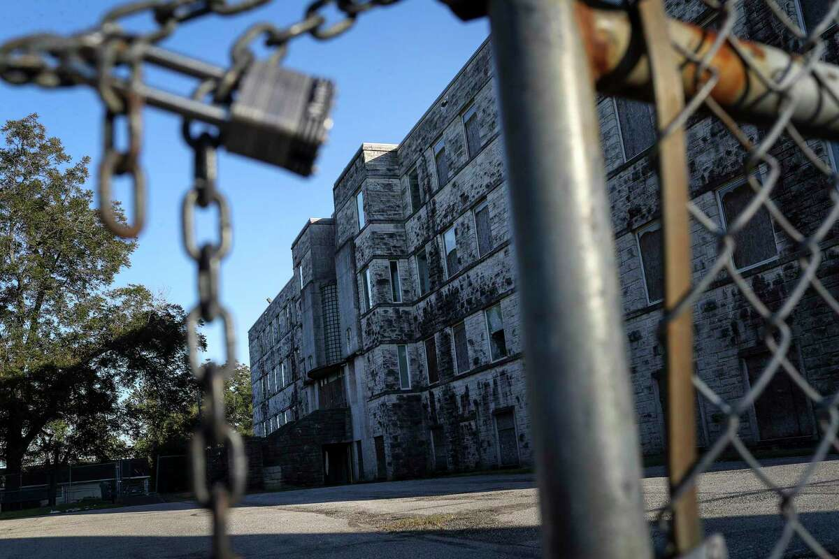 A developer plans to turn the former St. Elizabeth Hospital in the Fifth Ward into a mixed income housing development, which worries some residents, while others welcome it. It was photographed on Monday, Nov. 18, 2019, in Houston.