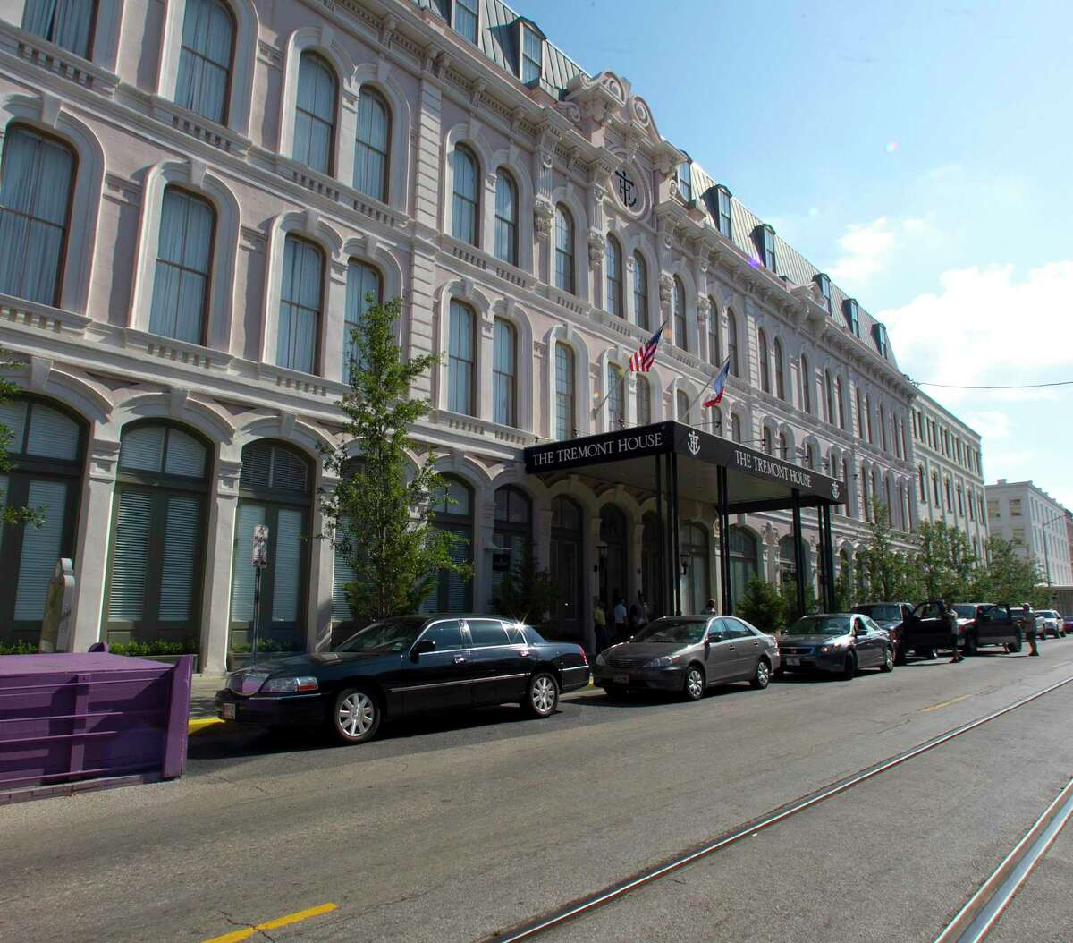 The Tremont House hotel Sunday, May 20, 2012, in Galveston. ( James Nielsen / Chronicle )