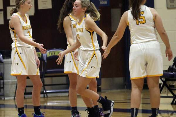 The Bad Axe girls basketball team battled the visiting Cass City Red Hawks in Greater Thumb West matchup on Thursday, Jan. 9, 2020. The Lady Hatchets picked up a 36-27 victory.