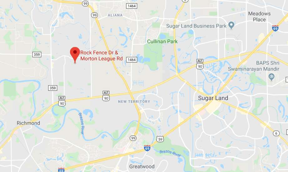 A woman was hospitalized in critical condition after being thrown from the hood of a car Thursday in Fort Bend County, authorities said. The driver was arrested on charges of DWI and aggravated assault. Photo: Google Maps