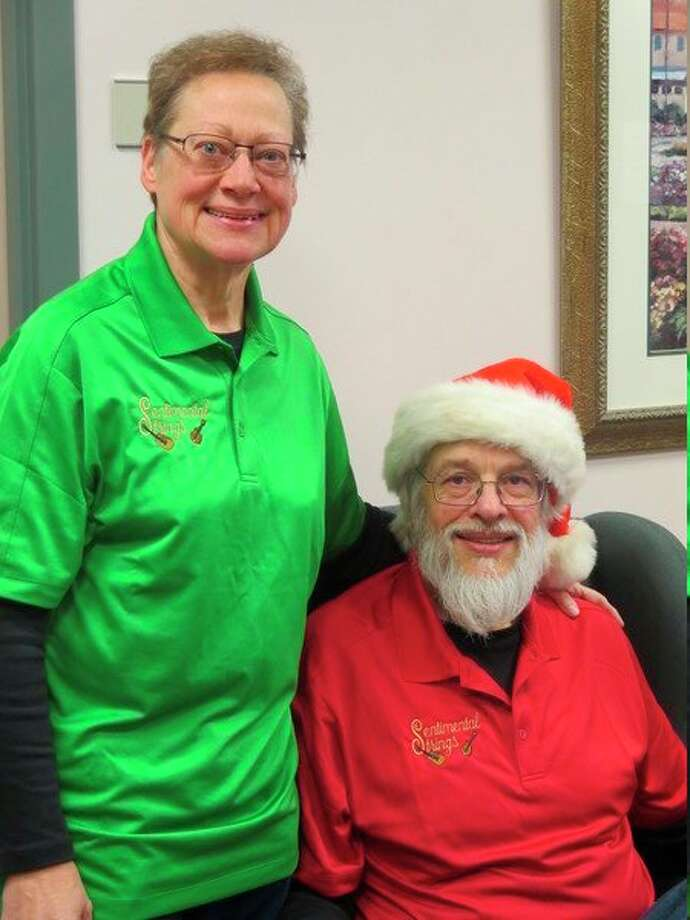 Marguerite and Dave Schrader are Volunteers of the Month. (Photo provided)