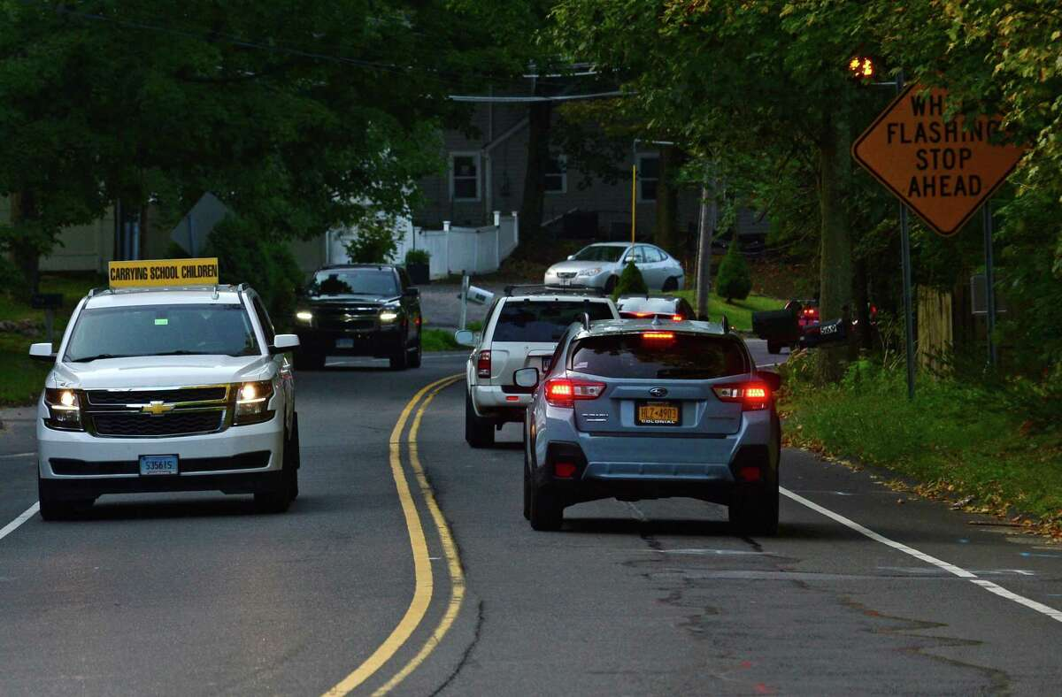 Based on security video footage cited in arrest warrants, police said Fotis Dulos used a vintage bicycle to travel from Waveny Park to Jennifer Dulos' Welles Lane home on May 24. The route would have taken him down heavily trafficked roads like Lapham Road, Old Stamford Road and Weed Street around 7:30 a.m.