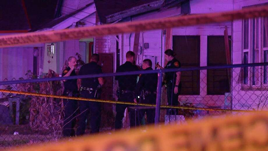 Two people have been hospitalized after being shot near the 700 block of Canton Street. Photo: Ken Branca
