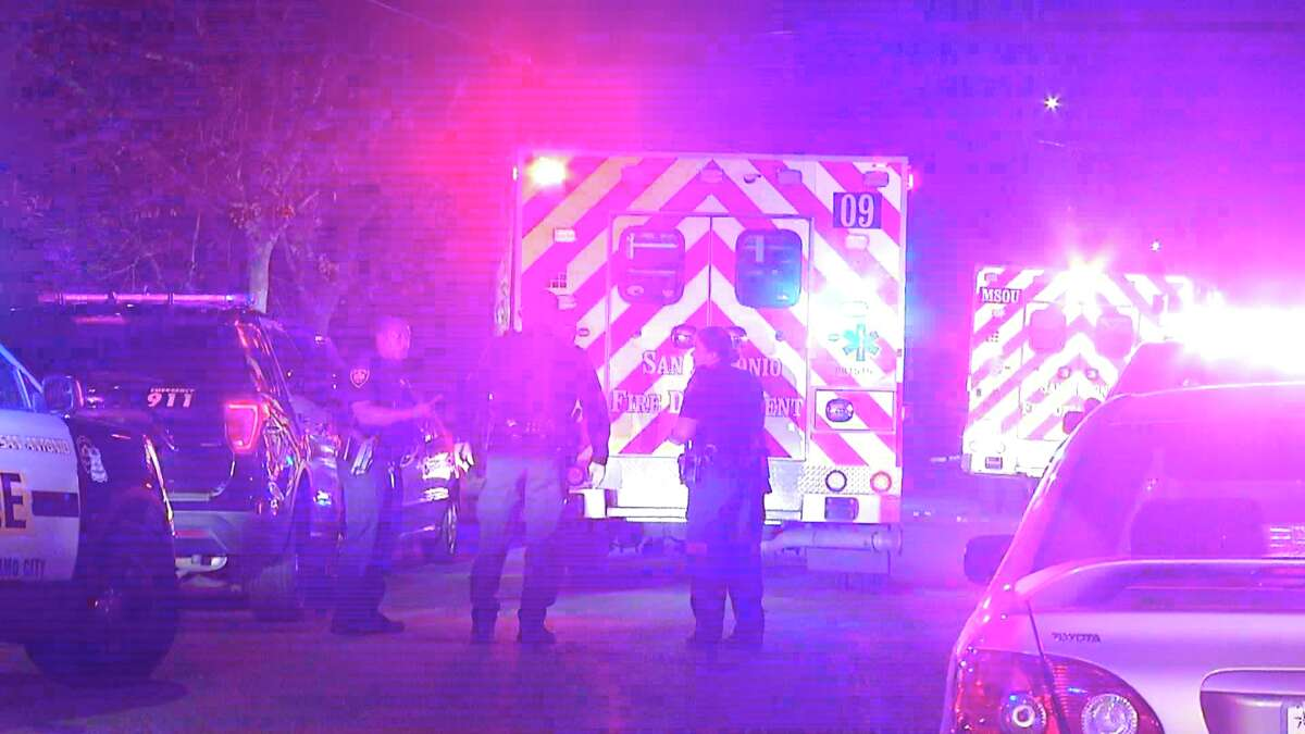Two people have been hospitalized after being shot near the 700 block of Canton Street.