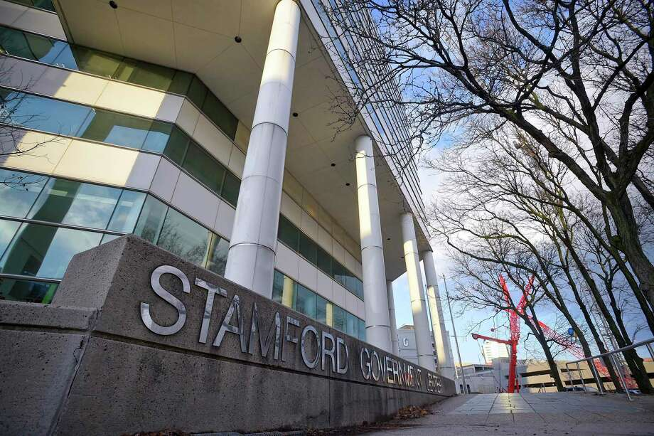 A general exterior photograp taken on Dec. 11, 2019 of the Stamford Government Center in Stamford, Connecticut. Photo: Matthew Brown / Hearst Connecticut Media / Stamford Advocate