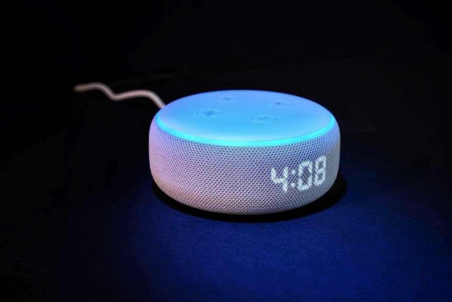 Amazon Echo Dot with Clock Photo: Amazon