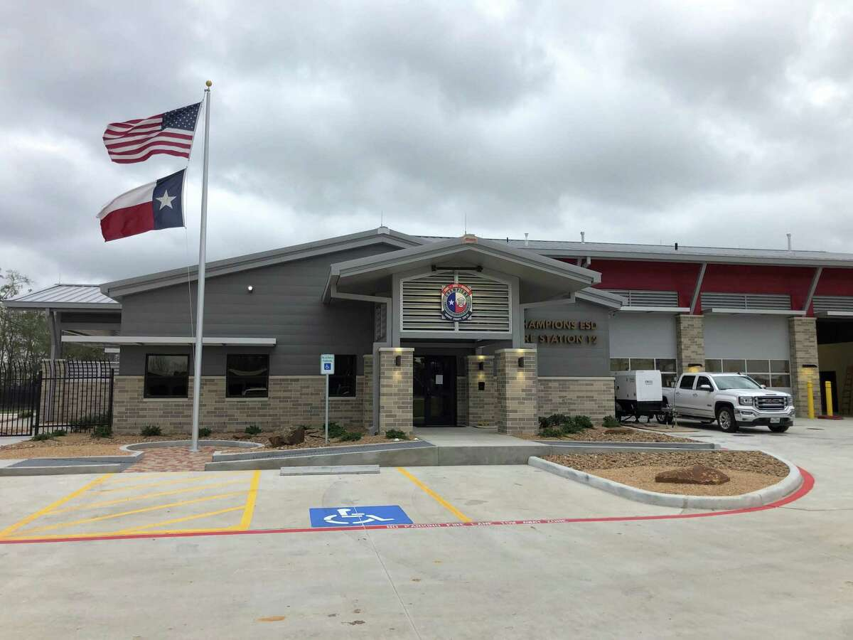 Champions Emergency Services District's Fire Station 12 is located at 12734 Cutten Road in northwest Harris County.