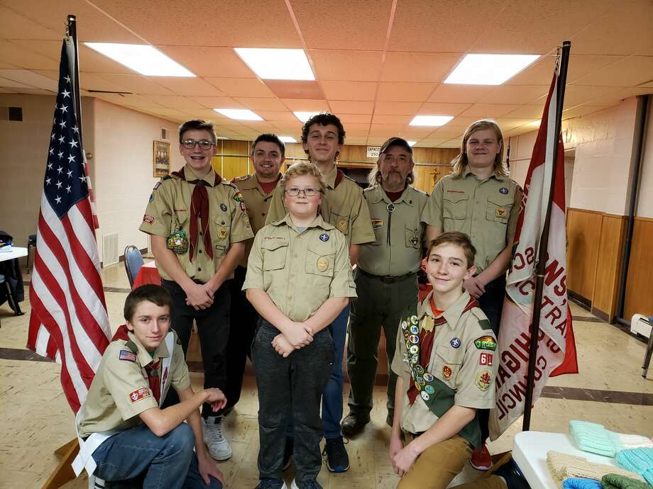 Boy Scout Troop 61 Photo: Courtesy Photo