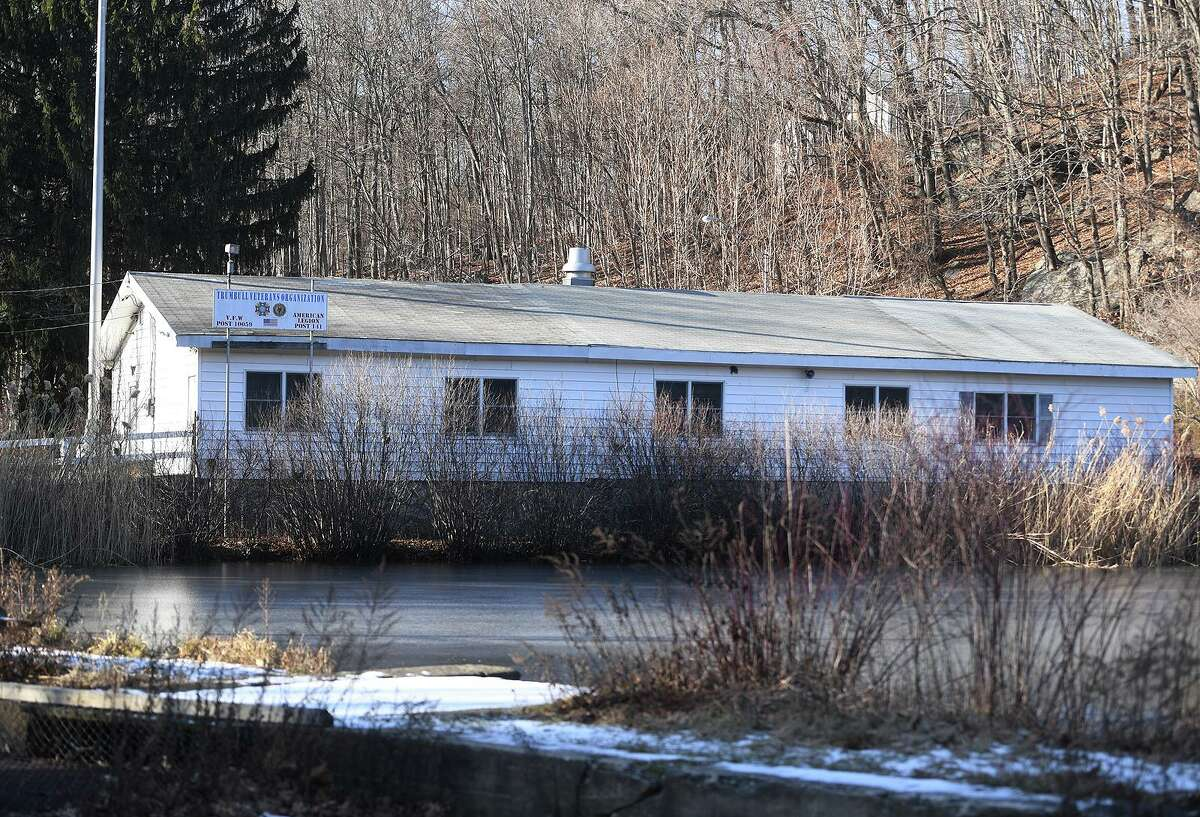 The Trumbull Veterans Organization building, closed for the last two years, is scheduled for demolition and replacement at 1 Veterans Circle in Trumbull, Conn. on Thursday, January 09, 2020.