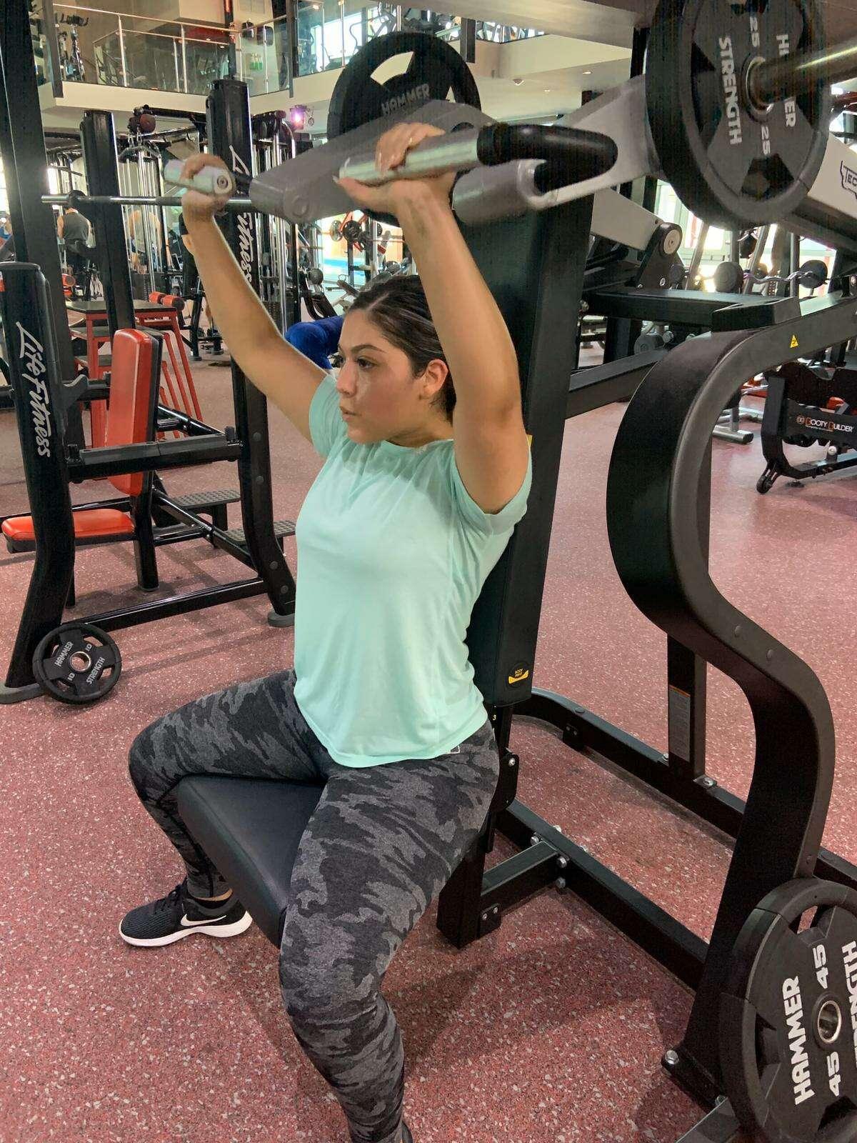 Kaylyn at Gym Legacy