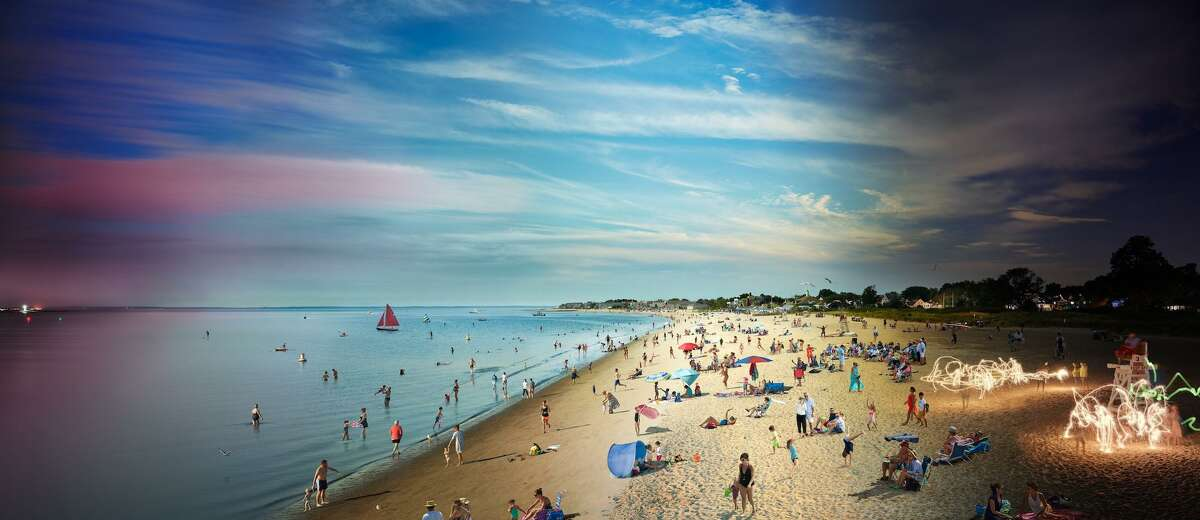 Stephen Wilkes, Fairfield Beach Day to Night