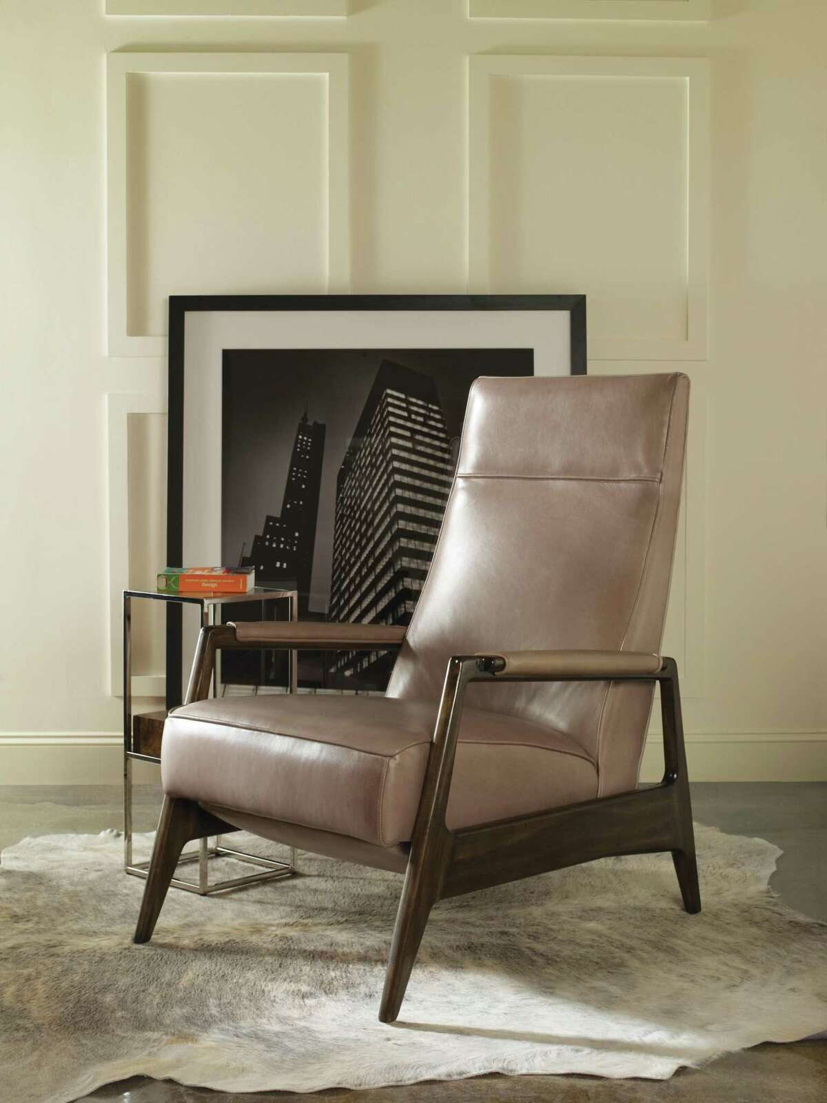 Vanguard's Woodley recliner, available in Houston at James Craig Furnishings at the Houston Design Center.