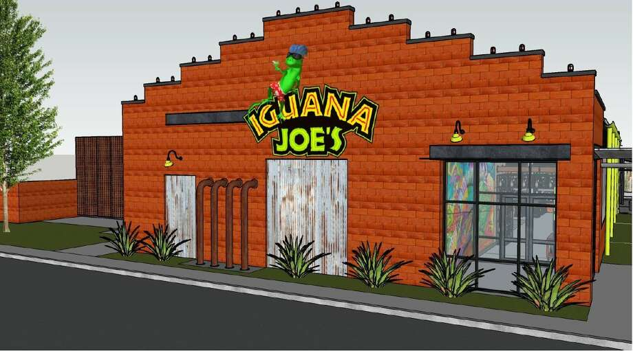 Renderings created by ID Studio 4 of the new Iguana Joe's location planned for Port Neches. Construction is expected in June. Photo: ID Studio 4/Iguana Joe's