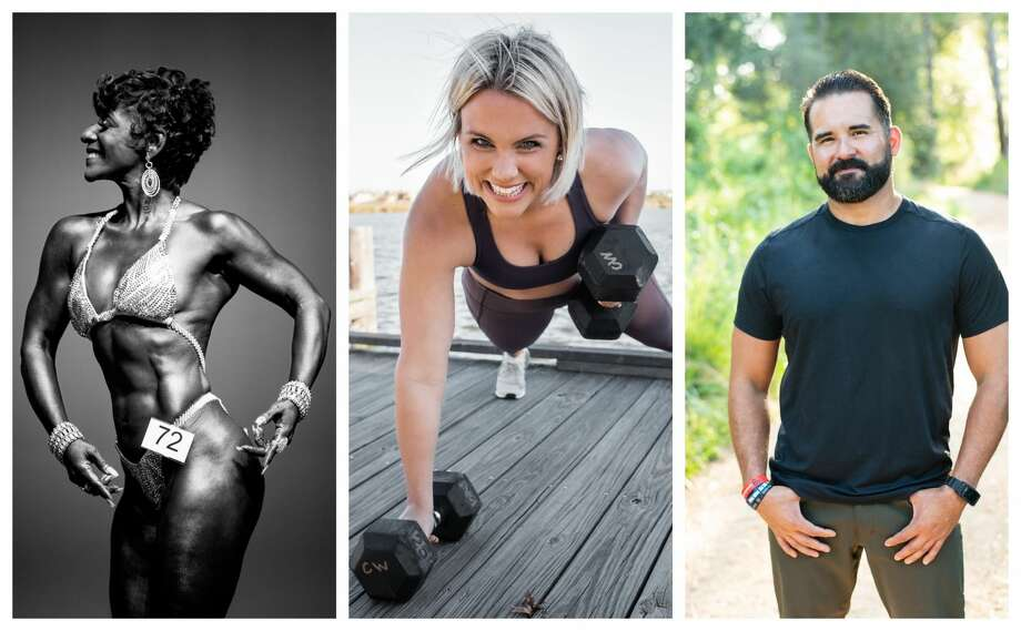 Top Houston fitness pros: Felicia Lee-Sexton, Chase Lynn Williams, Mark Argueta Photo: Courtesy Photo