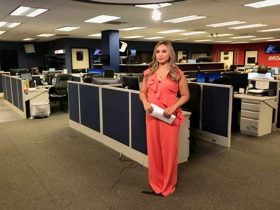 KABB and WOAI-TV's newest reporter, Alejandra Guzman-Tracy, comes from Univision San Antonio. Photo: Courtesy Alejandra Guzman