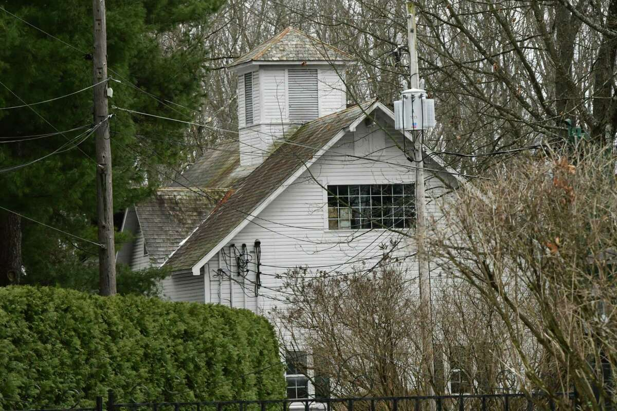 House seen from gate leading to MaryLou Whitney's home Cady Hill at 40 Geyser Road on Friday, Jan. 10, 2020 in Saratoga Springs, N.Y. Whitney's will leaves Cady Hill to her husband John Hendrickson. Two adjoining properties at 14 and 20 Geyser Road were left to two long-term employees. (Lori Van Buren/Times Union)
