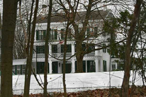 MaryLou Whitney's home Cady Hill at 40 Geyser Road on Friday, Jan. 10, 2020 in Saratoga Springs, N.Y. Whitney's will leaves Cady Hill to her husband John Hendrickson. Two adjoining properties at 14 and 20 Geyser Road were left to two long-term employees. (Lori Van Buren/Times Union)
