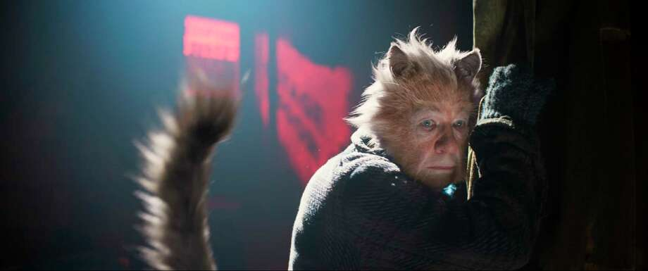 "This image released by Universal Pictures shows Ian McKellen as Gus the Theatre Cat in a scene from ""Cats."" (Universal Pictures via AP) Photo: / Associated Press / COPYRIGHT © 2019 UNIVERSAL STUDIOS, THE REALLY USEFUL GROUP LTD. and PERFECT UNIVERSE INVESTMENT INC. All Rights Reserved."