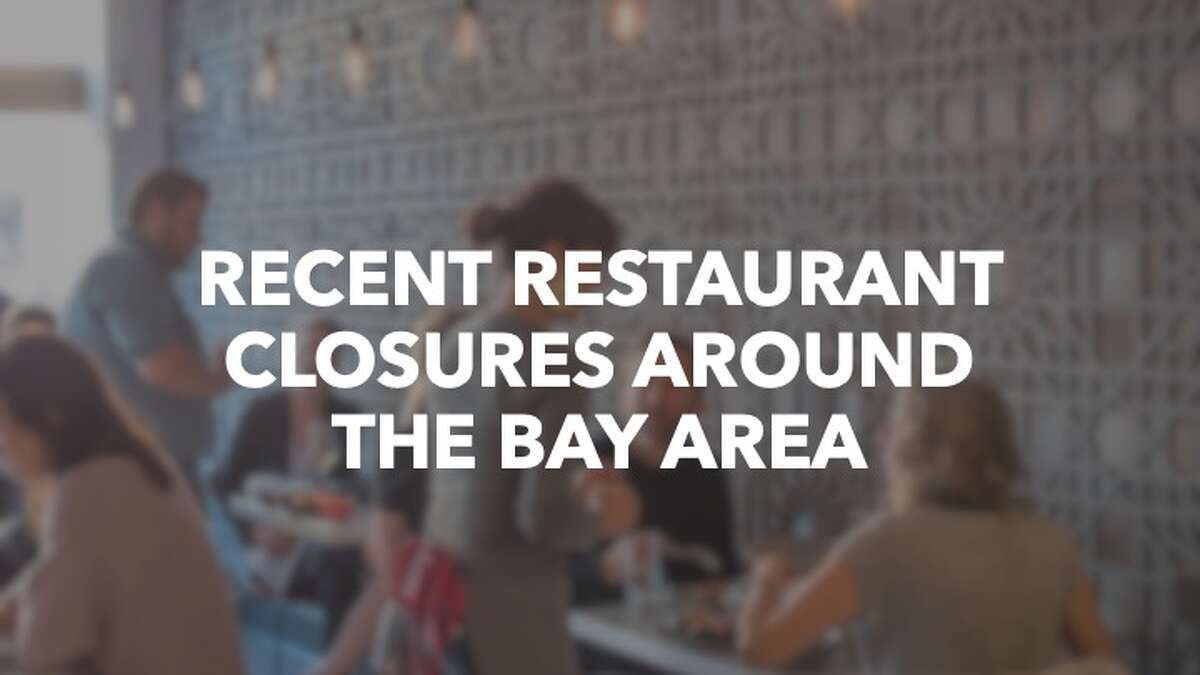 Click through the slideshow ahead to see notable restaurant closures around the Bay Area in 2019.